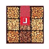 Rita Farhi Luxury Nine Selection Gift Set of Caramelised Nuts in a Gift Box 940 g