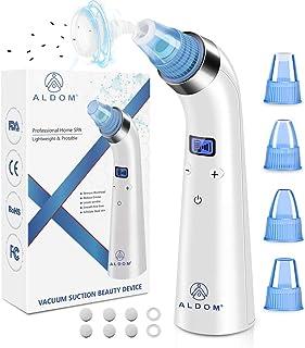 ALDOM Poren-Vakuum-Mitesserentferner, verbesserter Mitesserentferner Vakuum, USB wiederaufladbar, professionelles Mitesser-Vakuum gegen Pickel und Akne