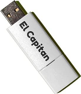Mac OS X El Capitan USB 10.11Boot Install Reinstall Recovery Upgrade Downgrade Flash Drive