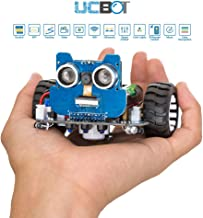 UCTRONICS WiFi Robot Car Kit for Kids with Camera UCBOT STEM Education Tool Smart Programmable DIY Coding Car Controlled by Android App, Arduino Compatible