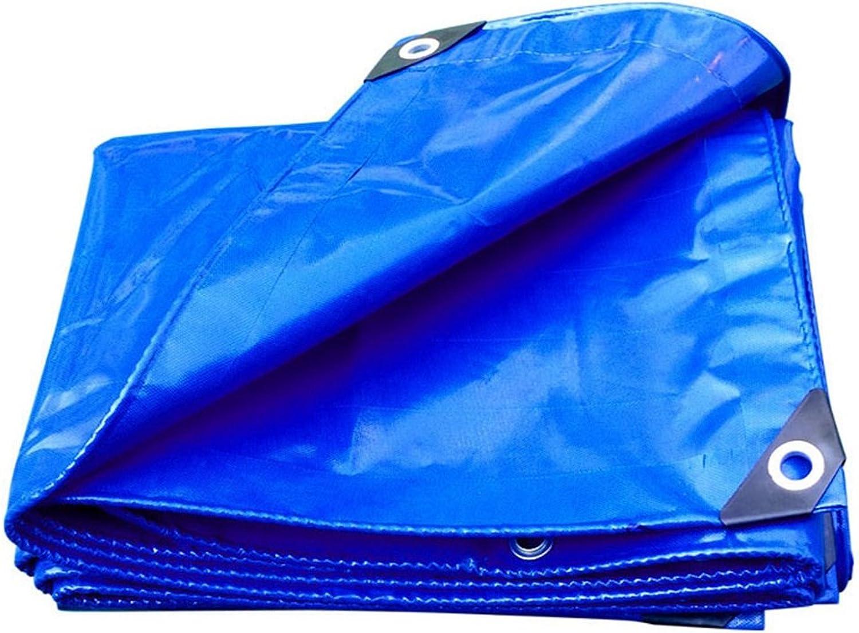Plane Persenning Blaues wasserdichtes langlebiges Qualitäts-Hochleistungsplanen-MultifunktionsTarp-Auto-Stiefel-Dach-Regen-Abdeckungs-Camping-Anhänger-Zelt - UVBesteändiges, UVBesteändiges, UVBesteändiges, Stärke 0.35mm, Multi-Größe Abd B07PLS469P  Internationaler gr b41bc2