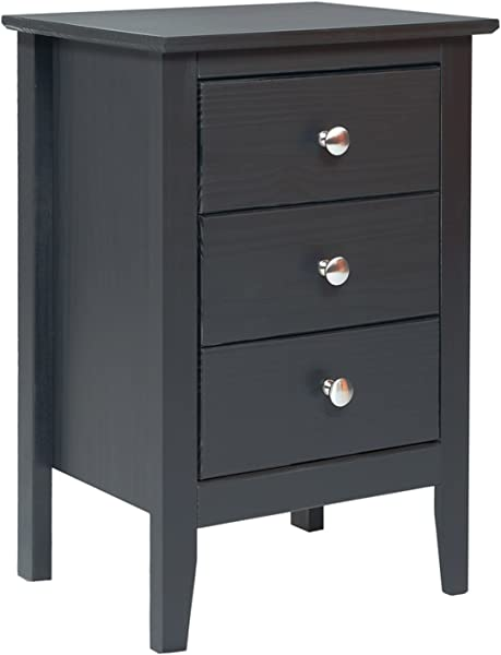 Easy Pieces 3 Drawer End Table Nightstand 13 77 X 20 X 21 14