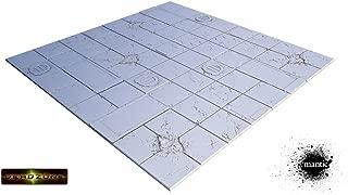 Miniatures Terrain Secret Weapon Miniatures Tablescape Tiles - Deadzone, Diplay Board (4)