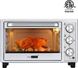 VIVOHOME 6-Slice Countertop Toaster Oven with Bake Pan, Broil Toasting Rack and Drag..