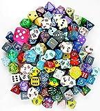 Quarter (1/4) Pound of Dice RPG Chessex Game Dice d4, d6, d8, d12, d20 Rare Dice