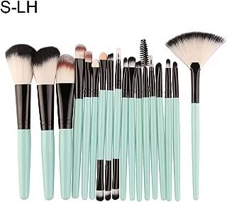 Makeup Brush Set gLoaSublim,18Pcs Makeup Brush Set Plastic Handle Eyelash Eyebrow Eyeliner Cosmetic Tool - S-LH