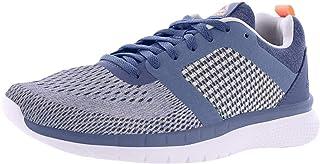 Reebok Women's Pt Prime Run 2 0 Blue Slate Grey Pink White Ankle High Mesh Running M