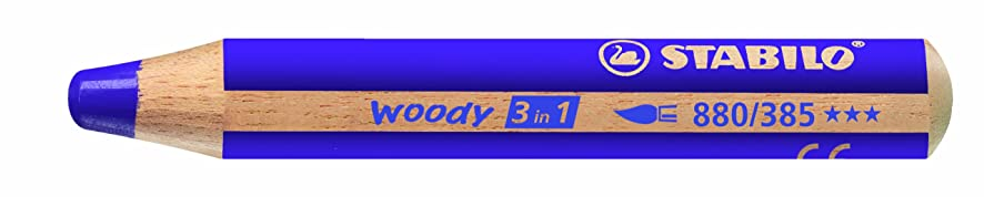 Stabilo Woody 3 in 1, Violet