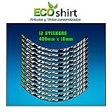 Perfetta vestibilità. Ecoshirt 0O-WZ53-UTBO - Adesivi per cerchione Rim Mavic Crosstrail Bike 29\
