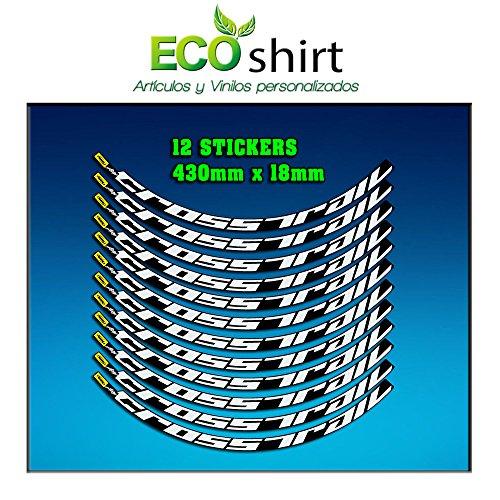 Ecoshirt P6-AO63-42F6 Pegatinas Stickers Llanta Rim Mavic Crosstrail Bike 26' 27,5' Am58 MTB Downhill