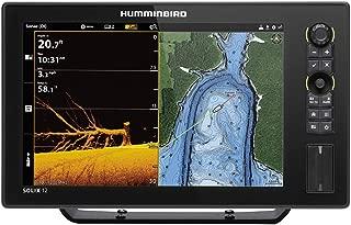 Humminbird SOLIX 12 G2 CHO Fish Finder with Chirp, MEGA DI+, GPS, and 12.1-Inch-Display