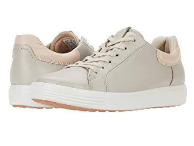 ECCO Soft 7 Street Sneaker (Gravel/Rose Dust) Women