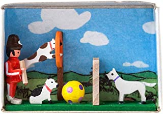 Alexander Taron 103-001B Dregeno Chip Box White 2.5 H x 3 W x 2.75 D Santa and Deers
