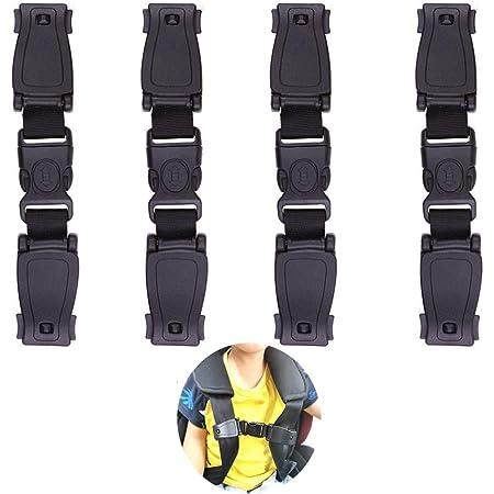 Auto Kindersitz Abschnallschutz Zum Einfädeln Nur Für Abnehmbare Sicherheitsgurte Sicherheitsgurt Clip Anti Abschnallen Schutz Autositz Gurtwickler Sicherheitsschnalle Auto Gurt Verschluss Baby