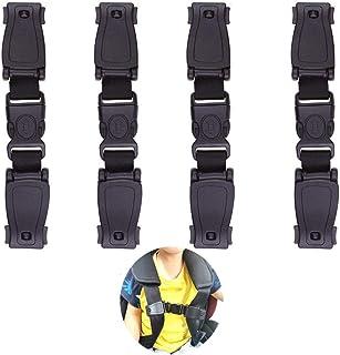 4 Stück,Baby Sicherheitsgurt Clip,Autositz Brustgurt Clip,Kindersicherheitsgurt Schnalle Gurt Gurt für kinder,Clip Autositz Kinder,Kindersicherheitsgurt Schnalle.