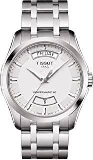 Tissot Couturier Automatic Silver Dial Watch T0354071103101