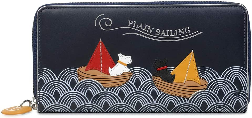 Radley low-pricing London Sailing Large Spring new work one after another Around Wallet Zip