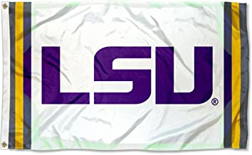 College Flags and Banners Co. Louisiana State LSU Tigers Field Stripes Flag