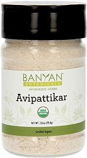 Banyan Botanicals Organic Avipattikar Powder - Spice Jar - with Cardamom, Vidanga, Ginger - Traditional Ayurvedic Formula to Soothe The Digestive Tract*- Non-GMO Sustainably Sourced No Additives