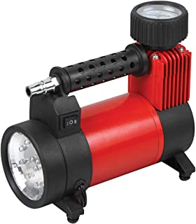 Useful Portable Electrical Air Compressor Pump with Flash Light (YS-309B)