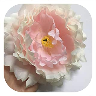 Memoirs- Artificial Peony Flower Heads DIY Multicolor Road Lead Wedding Flower Bouquet Hotel Background Wall Decor Accessories Flores,F