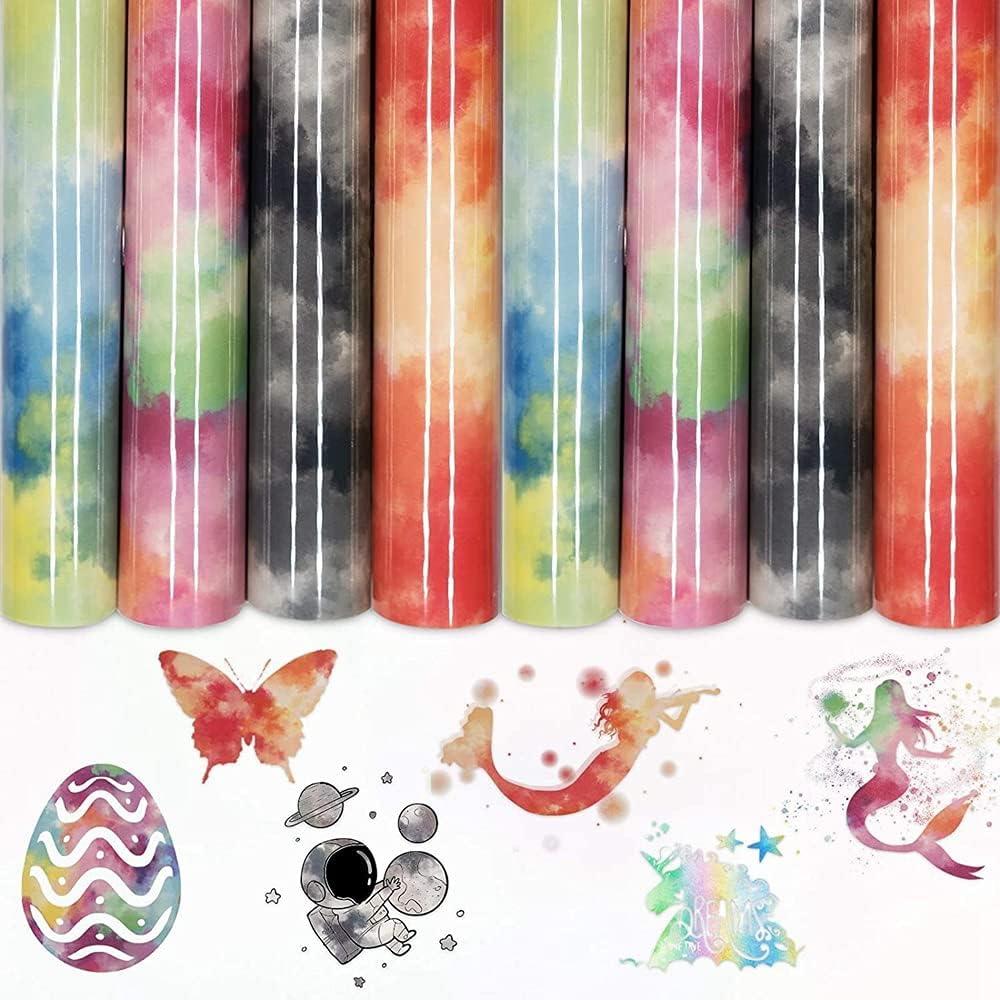 Permanent Adhesive Popular brand Heat Transfer Tie-Dye Chicago Mall Paper Vi Self