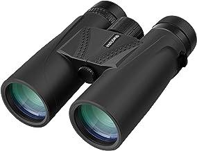 SharpOptics 12x42 Binoculars for Adults & Kids 18 mm Eyepiece FMC Lens for Birds Watching, Cruise, Safari, Hunting, Sports...