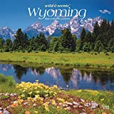 Wyoming Wild & Scenic 2022 12 x 12 Inch Monthly Square Wall Calendar, USA United States of America Midwest State Nature
