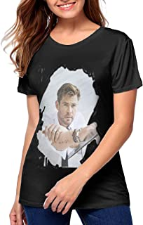 Chris Hemsworth T-Shirt Vest Tank-Top Singlet Mens Womens