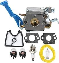 Powtol Mckin 545081811 Carburetor + 545112101 Air Filter Tune Up Kit fits Husqvarna 125B..