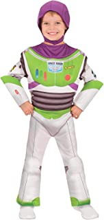 Disney Toy Story 4 Buzz Lightyear Deluxe Boys Costume, Size 3-5 Years