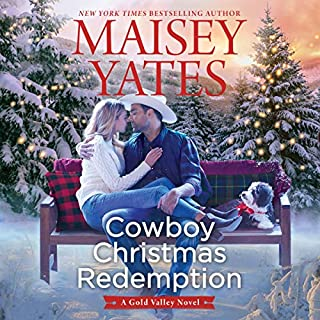 Cowboy Christmas Redemption audiobook cover art