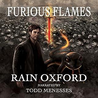 Furious Flames audiobook cover art