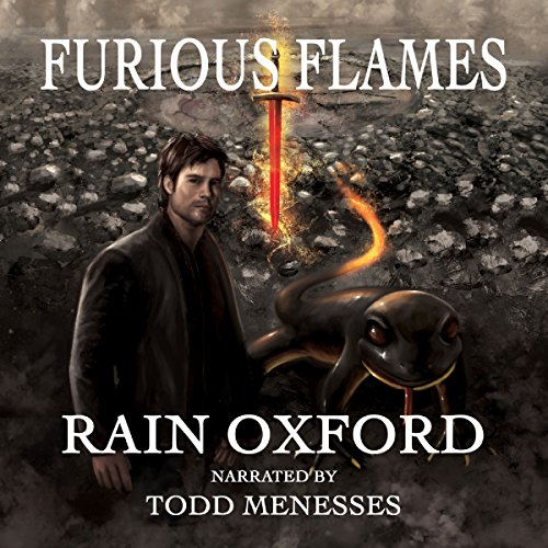 Furious Flames audiobook cover art