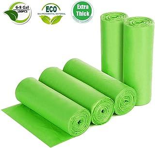 Bolsas de basura biodegradables, recicladas y degradables,