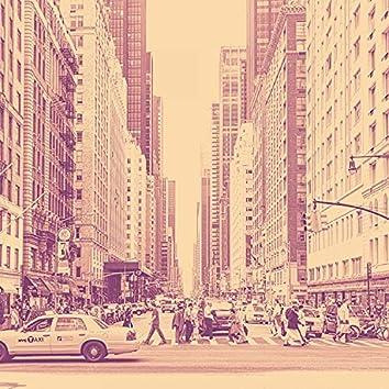 Backdrop for Lower Manhattan - Modern Big Band Ballad with Guitar