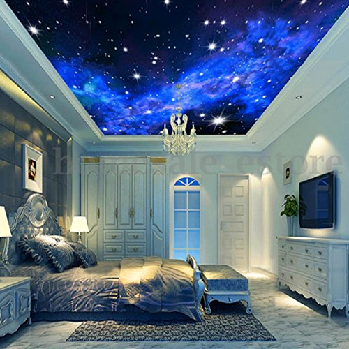 Eutteum Modern 3d Night Clouds Star Wallpaper Bedroom Living Mural Roll Wall Background Buy Online In Mauritius Unbrand Products In Mauritius See Prices Reviews And Free Delivery Over 2 500 Desertcart