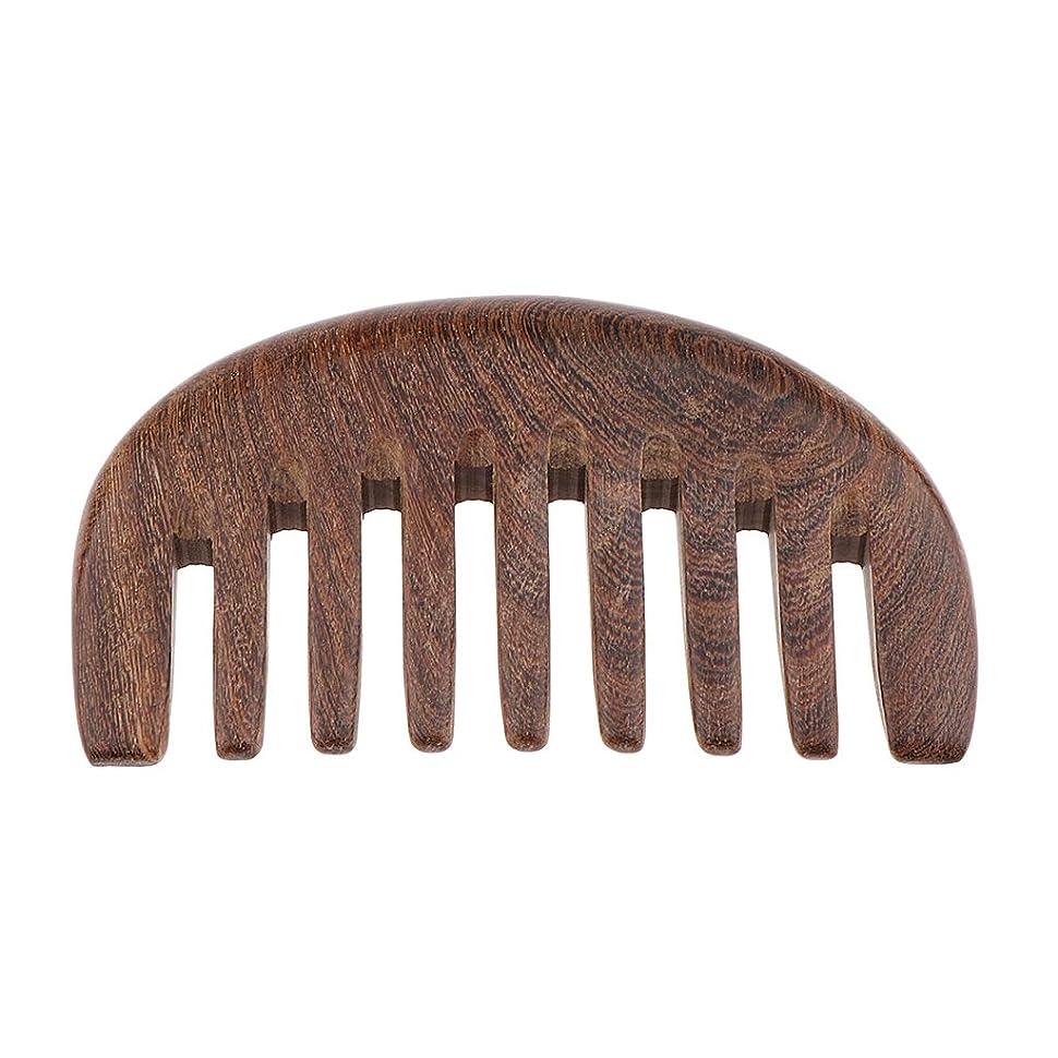 わかりやすいいつか回復する木製ヘアコーム 手作り 櫛 ナチュラル木製 マッサージコーム 3色選べ - クロロフォラ