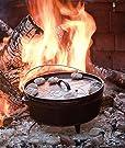 Lodge Boy Scouts of America Cast Iron Camp Dutch Oven, Pre-Seasoned, 6-Quart #4