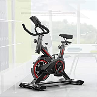 DELGC Excersize Bike, Peloton Bike, Fitness Cardio Home Cycling, Spinning Bike for Home Use, Aerobic Indoor Training Exercise Bike, 6Kg Flywheel, with Pulse Monitor