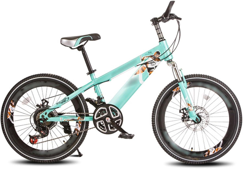 muchas sorpresas CGN- Bicicleta para para para Niños, Bicicleta de Montaña con amortiguación de Velocidad Variable para Estudiantes Suave  mejor precio