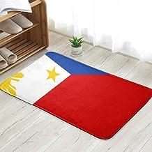 Philippines Flag Philippine Vintage Personalized Custom Doormats Indoor/Outdoor Doormat Door Mats Non Slip Rubber Kitchen ...