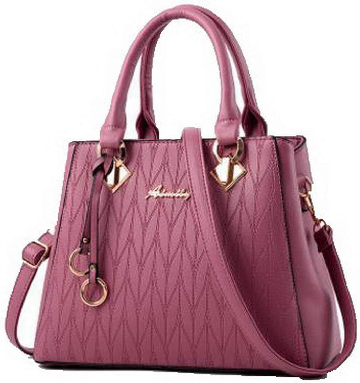 AllhqFashion Women's Shopping Shoulder Bags Dacron Zippers Crossbody Bags, FBUBC181823