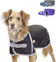 Derby Originals Solid Color Horse-Tough 600D Waterproof Ripstop Nylon Winter Dog Coat 150g Polyfil with One Year Warranty