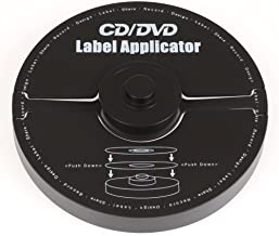 Merax B00NY4YA2I EZ Label: CD/DVD Label Applicator (40mm Hole, CD/DVD Applicator)