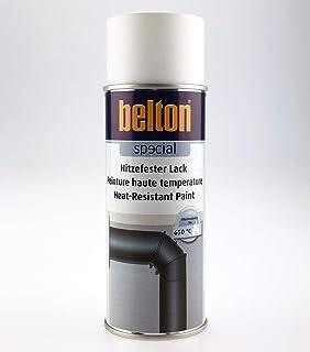 Unbekannt Kwasny Belton Special Hitzefester Lack bis 650°C Speziallack Lack Lackspray Spraylack weiß 400 ml