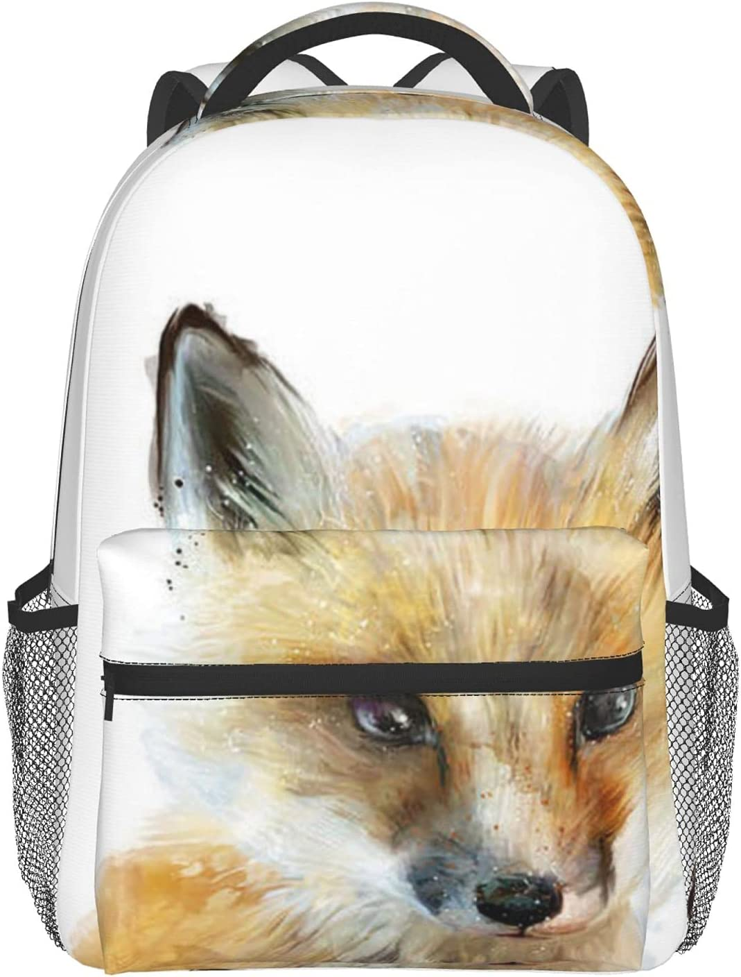 CURANI Casual Backpack Little Fox A surprise price is realized Laptop School Genuine Travel Bag B