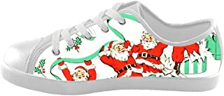 Custom Kid's Shoes Santa Claus New Sneaker Canvas