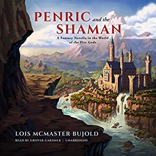 Penric and the Shaman audiobook cover art