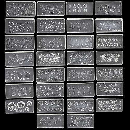 Nail mold acrylic nails